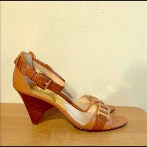 Michael Kors ankle strap,open toe size 9